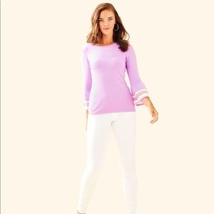 Lilly Pulitzer Callee Sweater Lilac Purple XS